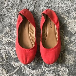 Lucky Brand leather flats • sz 9.5